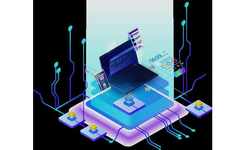 مرونة ربط البرنامج بباقي أنظمة وبرامج الشركة